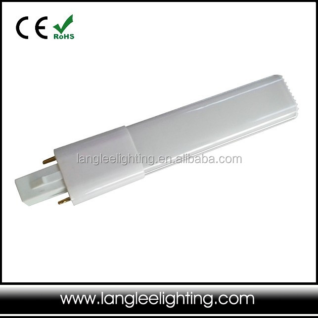 6W 8W 2pin 4pin LED light G23 G24 LED lamp G24 led plc light for cfl replacement