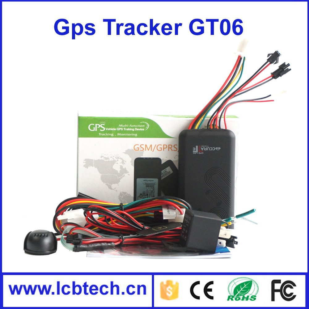 GT06 with Cut off fuel /GSM SIM alarm with High quality New price Mini car Spy GPS Tracker