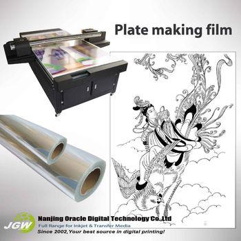 Polyester Film,Film Semi Transparent Film,Screen Printing Waterproof Clear  Inkjet Film - Buy Screen Printing Waterproof Clear Inkjet Film,Film Semi