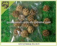 Christmas tree natural pinecones ornaments