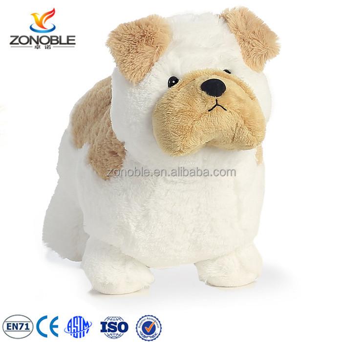 Hot Selling Stuffed Animal Bulldog Promotion Gift Cute Working Puppy