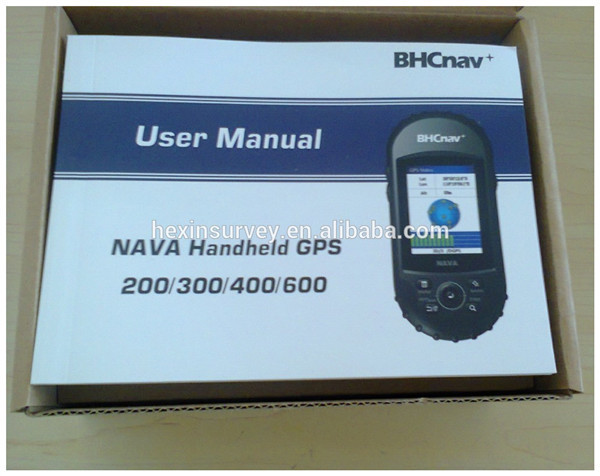 BHCnav NAVA600 GPS Handheld with Temperature