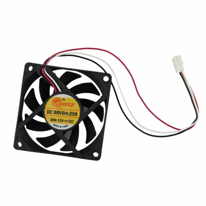 520 современных компьютерных чехол кпп 12 В 7 см 70 мм PC охлаждения процессора кулер вентилятор May19