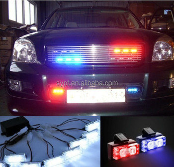 8x4 led dash strobe light for police car led448 red blue green buy car dash strobe light. Black Bedroom Furniture Sets. Home Design Ideas
