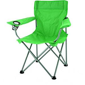 Steel Frame, Ozark Trail Deluxe Folding Camping Arm Chair