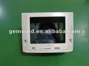 Different size of spray CRT TV cover injection mould/moulding