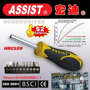 Made in china factory CRV or S2 material mini bits screwdriver design
