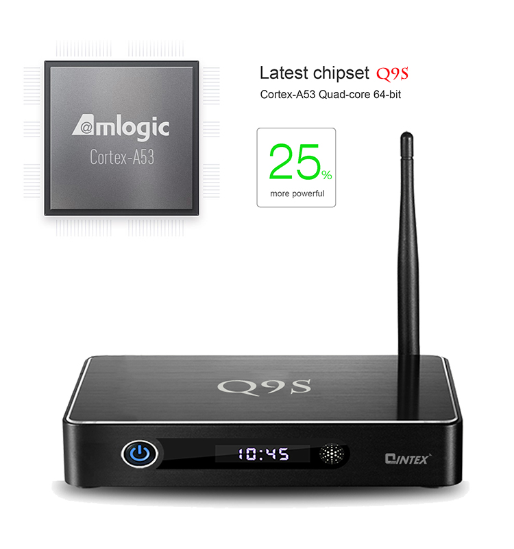 25% more powerful Qintex Q9S Amlogic S905 hd sex pron video tv box watch free xnxx movies