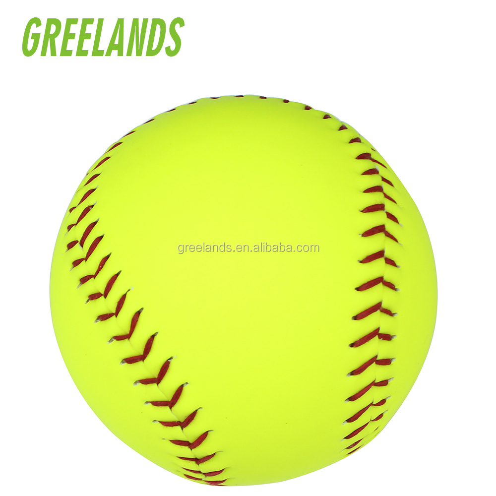 Professionele Top Kwaliteit Softbal Standaard Maat Groothandel Custom Baseball Product China Softbal Fabrikanten