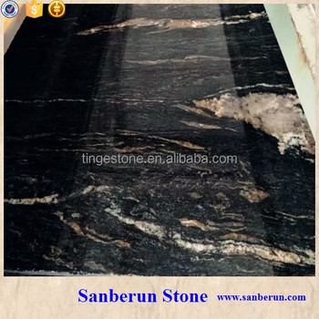 Beautiful Cosmic Black Granite For Tabletop