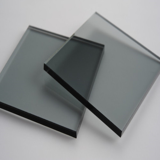 High Quality Grey Glass Clear and Tinted/Colored Float Building Glass Price SYS
