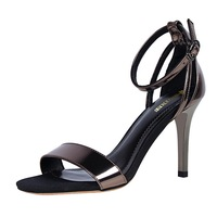 High Quality Zapatos Mujer Tacon Pumps Designer Elegant Women Sandal Black Heels for Women Ladies