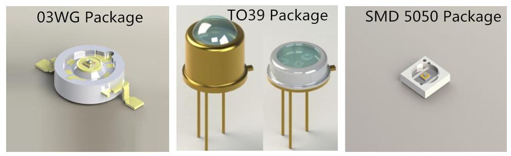 265nm 280nm 03wg/smd/to39 Uvc/uv-c/uv Light Led Diode/emitter ...