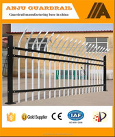 Anju brand alibaba gold supplier high security ornamental steel fence DK012