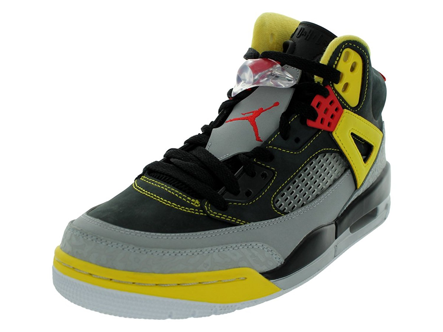 online store e82d3 52688 Get Quotations · Jordan Mens Spizike Black Red Yellow 315371-050 9.5