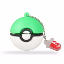 Populaire telefoon game private label pokemon gaan siliconen gift <span class=keywords><strong>USB</strong></span> flash pen thumb drive