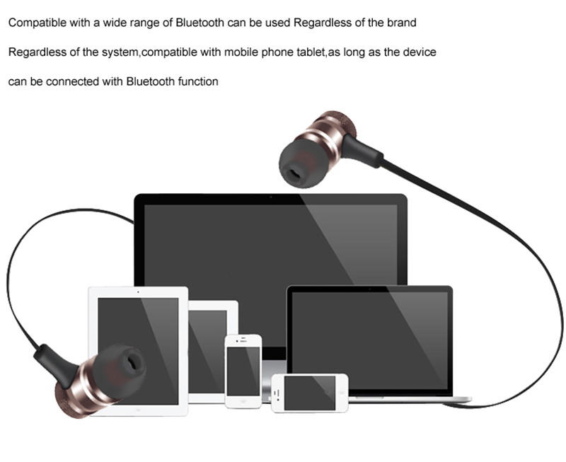 Shenzhen wholesale 2018 earphone bluetooth magnet