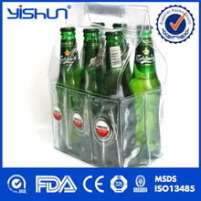 plastic Wine Use and Insulated beer cooler Type 6 pack bottle carrier
