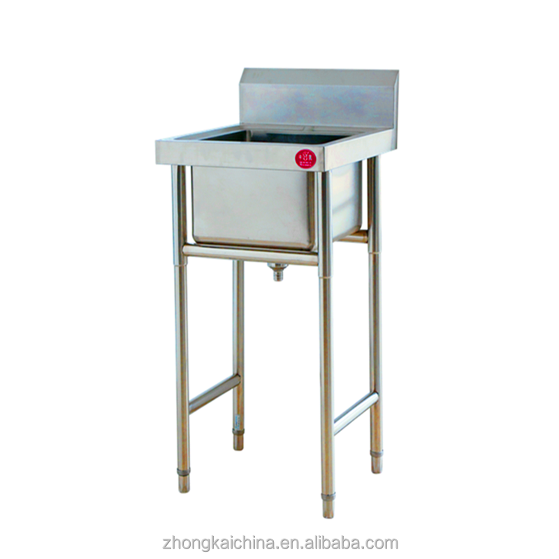 Hand Sink/All Stainless Steel Unit, Free Standing,800mm High