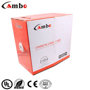 CCTV Cabliing Factory Cheaper Price Cable Length Meter Cat6 CE ROHS UL Certificated 1000FT