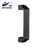 U Shape Handle PL036 black door knobs cabinet handle