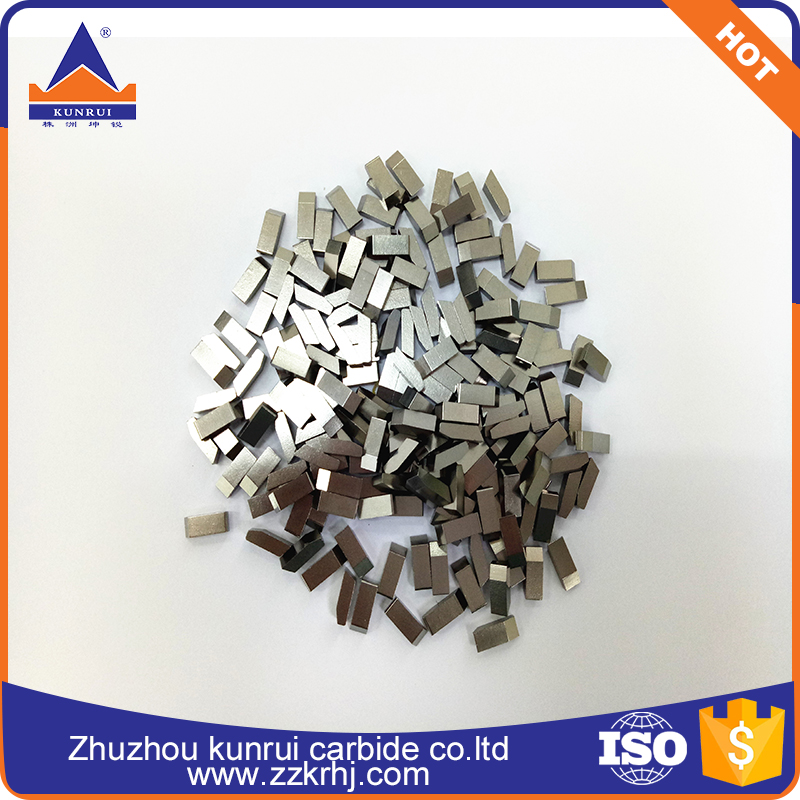 YG6X/YG6/YG8 Tungsten carbide saw tips for wood and aluminum cutting working