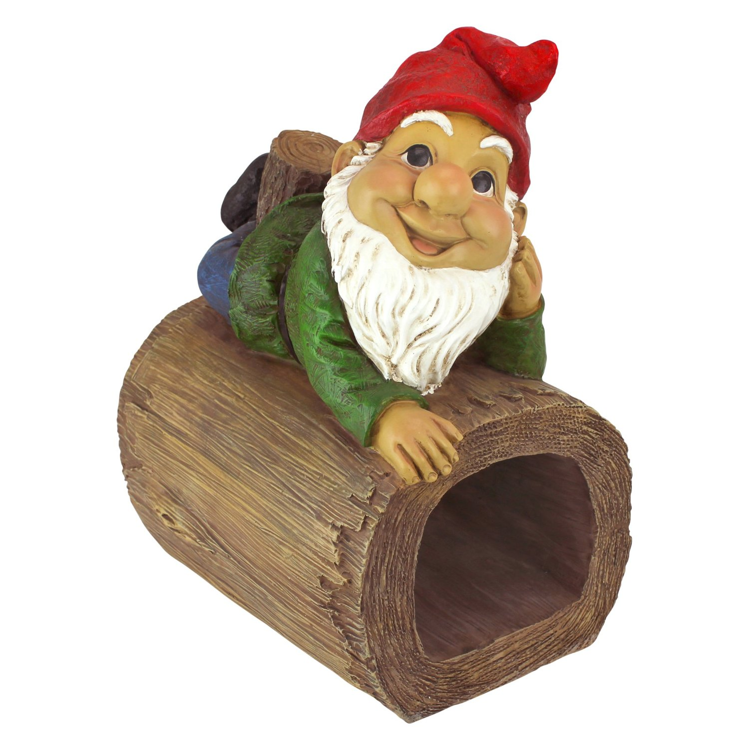 Buy Garden Gnome Statue - Stormy the Gnome - Gnome Downspout ...