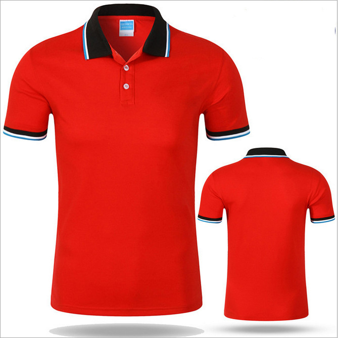 Free sample short sleeve different color blank uniform polo shirt