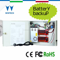 Security system camera power supply for ip camera