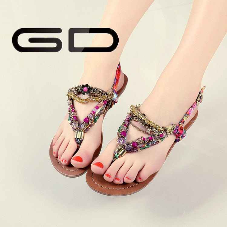 Indian costume high quality beautiful fashion jewelry <strong>sandals</strong> wholesale exporter