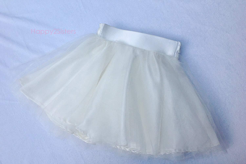 Baby tulle skirt Girls tulle skirt Girls ivory skirt Baby girls tutu skirt