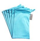 Top quality soft cloth drawstring microfiber carrying pouch bag
