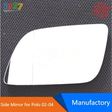 Auto Car Wide Angle Heating Side Mirror Glass for VW Polo 2002 - 2004