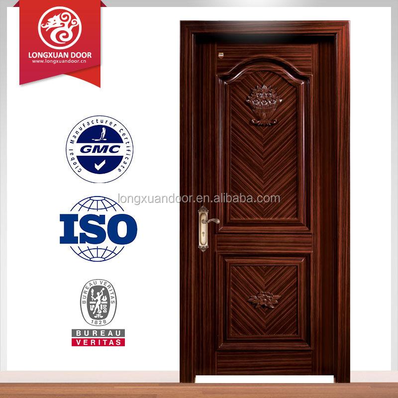 venta caliente del estilo de la vendimia entrada principal puerta de madera para el hotel