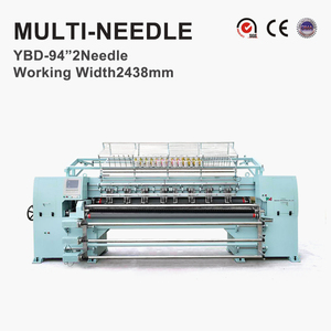 YBD94-2 needle Rotary hook Computerized Multi Needle Quilting Machines