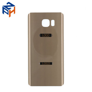 Mobile Phone Spare Parts Housing Back Door For Samsung Galaxy Note 5 N920P Battery Cover Gold