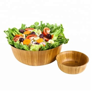 Hot Sell Cheap Bamboo Wooden Dough Bowl