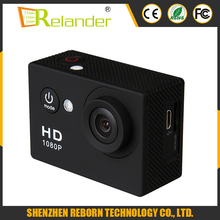 2.0 Inch Screen A9 Action Camera hd mini sport dv 1080p manual Waterproof Camera