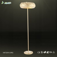 China suppliers unique design black color modern chandelier floor lamp(HXF2014-3BL)