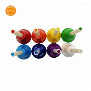 Mini Hand bells Set 8 Note Diatonic Metal Musical Bells for Children educational Tonal Bells