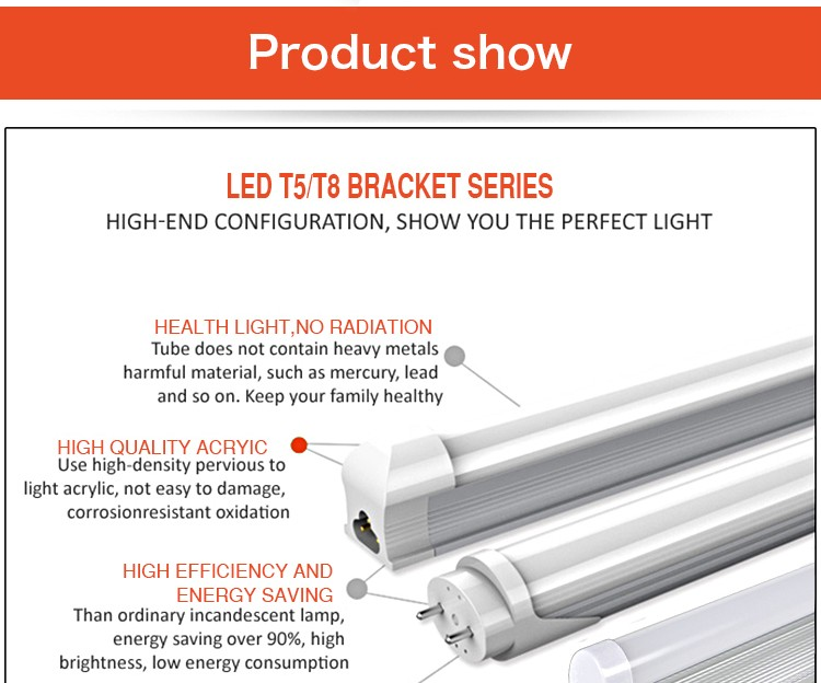 high lumen 18w led tubes 1.2m led 2835 18 av tube