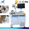 Hot selling cheap desktop 20W fiber laser marking machine for anminal ear tags,plastic ,auto parts