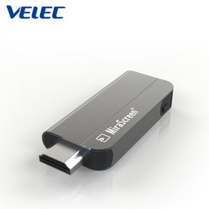mobile to TV Wireless screen sharing full HD 4k Video/Audio/Photo/Office file/Website wifi anycast dongle K2
