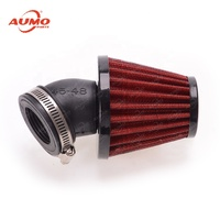 High performance air filter for motorcycles blue color and red color motorbike air filter