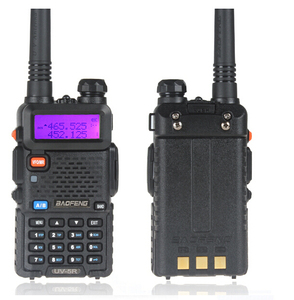 2 Way UHF VHF Hand held Portable Radio Ham China Quanzhou Baofeng UV-5R Dual Band Two Way Radio