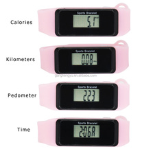 New Design Silicone Bracelet Digital Calorie Wristband Step Counter