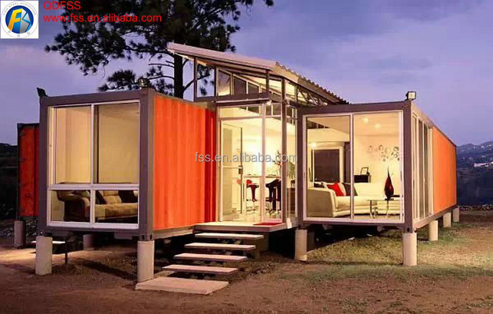 Solar Panel Container House With Wall Paper China Supplier