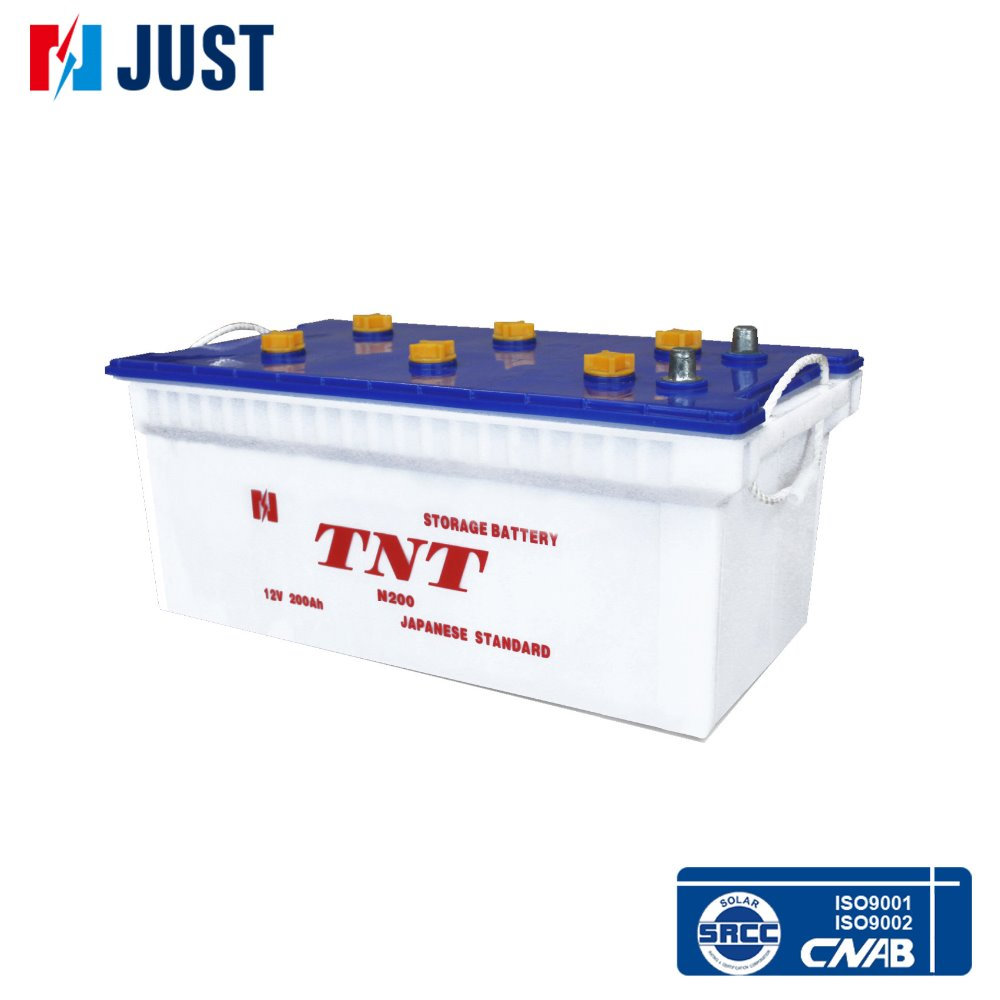 Truck rc 12v 200Ah N200 industry leading battery for large capicity