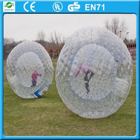 2016 buy zorb ball zorbing ball prices, zorb ball for land and water, 0.8mm PVC material
