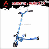Best Brand 12km Foldable scooter three wheels